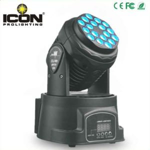 18X3w RGB Mini LED Moving Head Wash Light for Stage pictures & photos