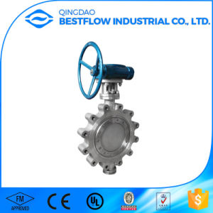 China Manufacturer Stainless Steel Wafer Butterfly Valve with Hand Lever/Worm Gear pictures & photos