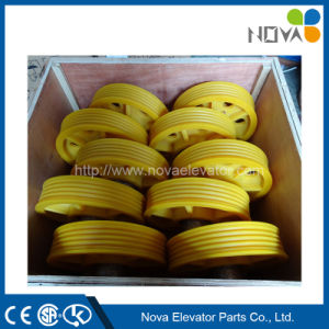 Mc Nylon Sheave for Elevator Car Frame pictures & photos