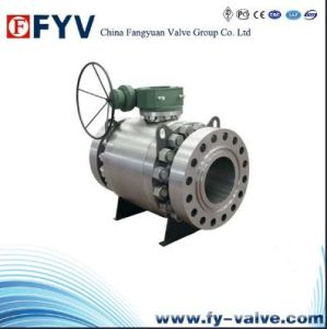 API Cast Steel Top Entry Ball Valve pictures & photos