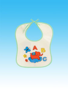 100% Cotton Baby Bibs Double Print Baby Bids Wholesales with Factory Price