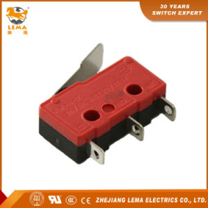 Lema 5A Black and Red Kw12-1I Micro Switch pictures & photos