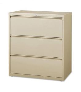 3 Drawer Metal Horizontal File Cabinet for Office pictures & photos