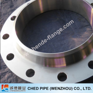 Flange Weld-Neck Stainless Steel ASTM A182 F316/316L C150lb RF Sch40
