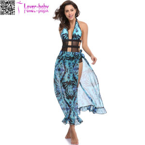 Women′s Fashion Sleeveless Cover up Summer Beach Dress Ty1023 pictures & photos