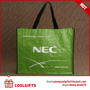 Non Woven Laminated Shopping Tote Bag with Custom Print pictures & photos