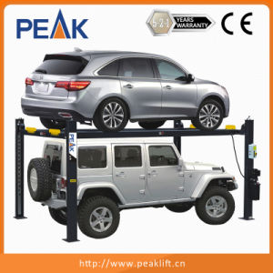 High Safety 4 Pillars Parking Lifter with Ce Approval (409-P) pictures & photos