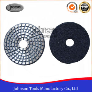 4 Inch Metal Bond Polishing Pad for Stone and Concrete pictures & photos