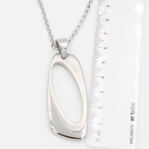Stocked Retangular O Pendant with Pealr Chains From Manufacturer Directly pictures & photos