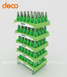 Corrugated Display Stand Cardboard Display Shelf for Wines pictures & photos