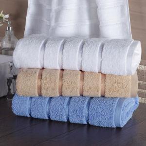 Multi-Color Hotel Jacquard Cotton Bath Towel pictures & photos