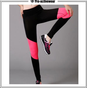 Wholesale Custom Women Fitness Leggings and Women Compression Yoga Pants pictures & photos
