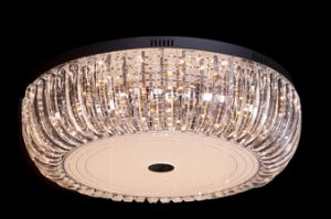 LED Round Modern Crystal Lounge Indoor Decorative UL Ceiling Lamp pictures & photos