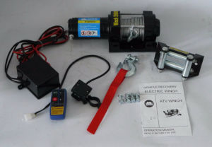 ATV 12V/24V DC Electric Winch with Ce Certification (3500lb) pictures & photos