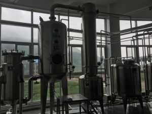 Triple-Effect Falling Film Evaporator/ Vacuum Concentrator for Juice / Milk / Whey pictures & photos