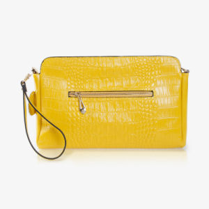 Lady Genuine Leather Shoulder Messenger Bag Fashion Wristlet Crossbody Bag pictures & photos
