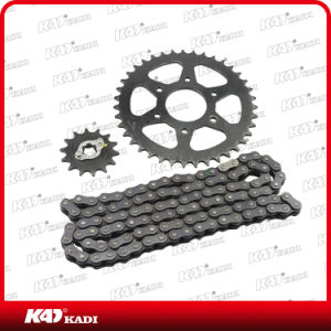 High Quality Motorcycle Spare Parts Motorcycle Chain and Sprockets Set for Bajaj Pulsar 200ns pictures & photos