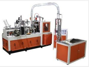 Side and Coated Paper Coffee Cup Making Machine pictures & photos