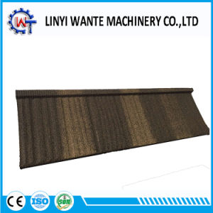 Wood Wind and Corrosion Reistance Stone Coated Metal Roof Tiles pictures & photos