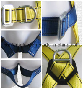 High Quality American ANSI Standard Safety Belt Full Body Harness pictures & photos