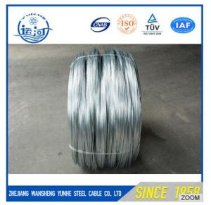 Silver Surface Heat-Treated Galvanized Wire / Low Carbon Steel Wire pictures & photos