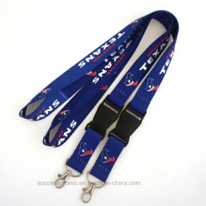 Printed Promotion ID Card Lanyard with Detachable Buckle pictures & photos