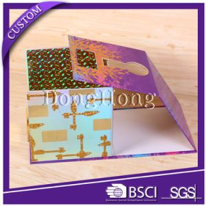 Flower Design Cylinder Shape Round Christmas Gift Box Packaging pictures & photos