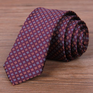 Fashion Men′s Classic Jacquard Silk Skinny Necktie Tie (A780) pictures & photos