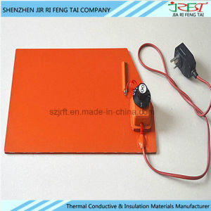 Manufacture DC24V Flexible UL Rubber Heating Sheet pictures & photos