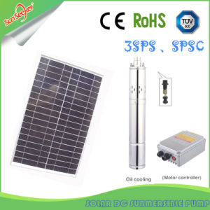90m Head Solar Submersible Pump system Water Pump Solar DC/AC Water Pump pictures & photos