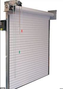 Industrial Aluminium Insulated Warehouse Foaming Automatic Roll up Door (Hz-FC0452) pictures & photos