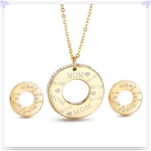Crystal Jewelry Fashion Jewelry Stainless Steel Jewelry Set (JS0314)