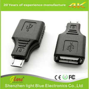 USB 2.0 Micro USB Female Adapter pictures & photos