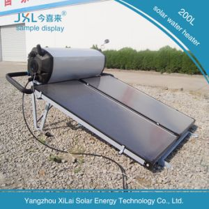 200L Stainless Steel Flat Plate Solar Water Heater pictures & photos