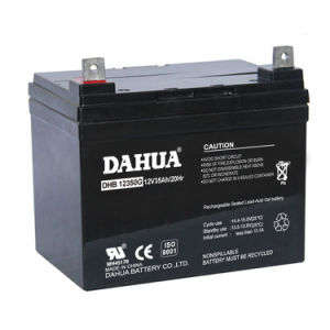 Hot Sale 12V 35ah Gel Battery for Solar Systems pictures & photos