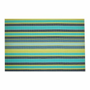 Stripes Tabletop PVC Woven Placemat for Home & Restaurant pictures & photos