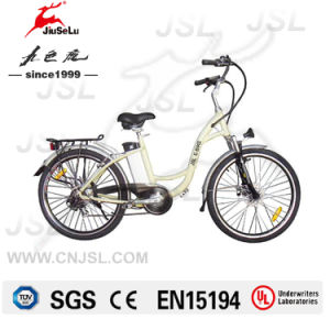 250W 36V Lithium Battery City Woman Electric Bicycle (JSL038XE) pictures & photos