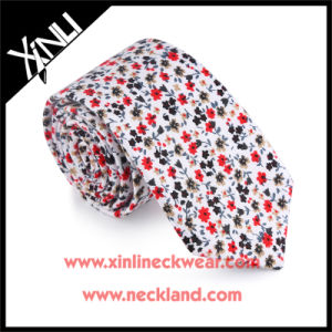 Cotton Printed Wholesale Neckties 5cm for Men pictures & photos