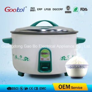 Green Color Panel Rice Cooker with Flower Printing pictures & photos