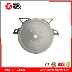 Ceramic Clay Filter Press Hydraulic Chamber Plate Round Plate Type Filter Press pictures & photos