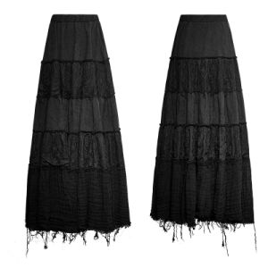 Q-309 Fashionable Fresh Girls Color Contrast Full Skirt pictures & photos