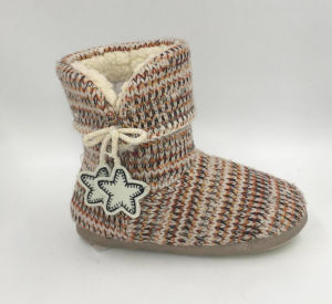 Lds Multi Indoor Slipper Boots pictures & photos