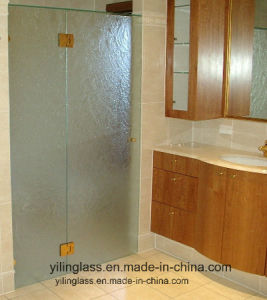 Tempered Patterned Door Glass with Certificate Ce, SGCC pictures & photos