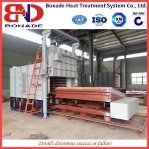 Trolley Type Heat Treatment Furnace for Rapid Quenching pictures & photos