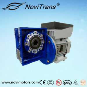 3kw Three Phase Servo Clutch Motor with Decelerator (YVM-100D/D) pictures & photos