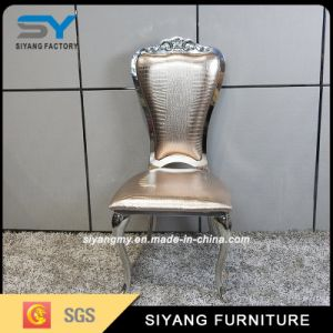 Chinese Manufacturer Stainless Steel Dining Room Chair pictures & photos