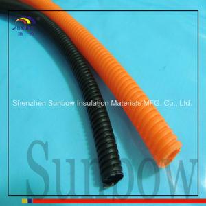 "1/4"" Split Wire Loom Conduit Polyethylene Tubing pictures & photos"