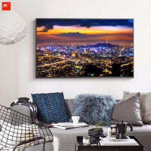 Luxury Urban at Night Canvas Print pictures & photos