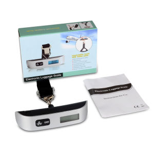 50kg 110ld LCD Display Electronic Weighing Scale pictures & photos