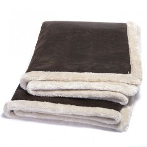 Extra Thick 2 Layers Micro Mink with Sherpa Blanket pictures & photos